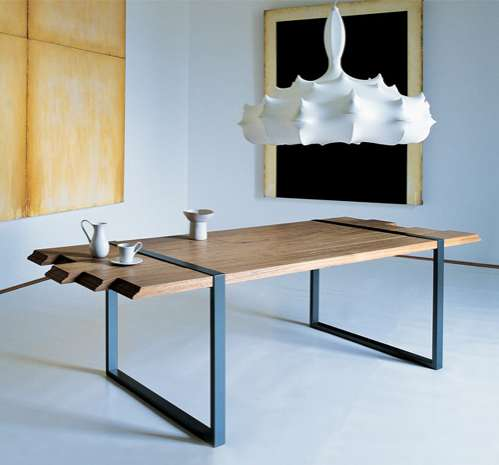Wood Plank Furniture. Wood Plank Furniture   Raw Table