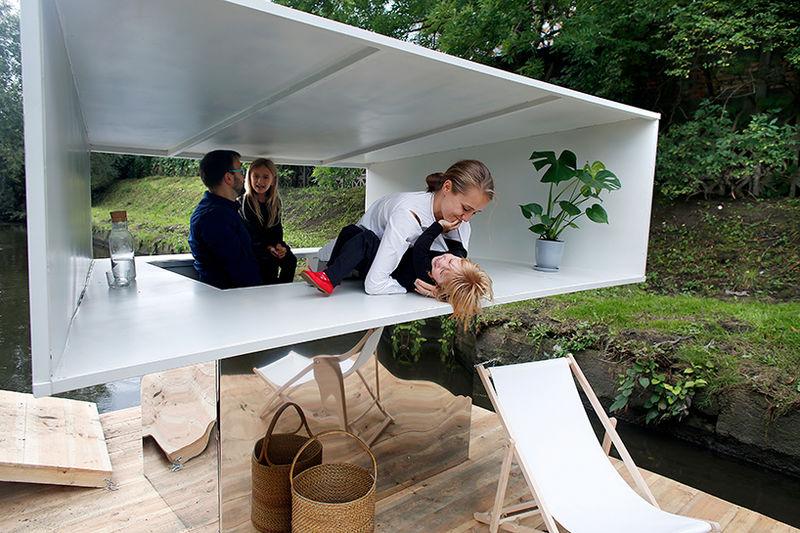 Modern Floating Pavilions