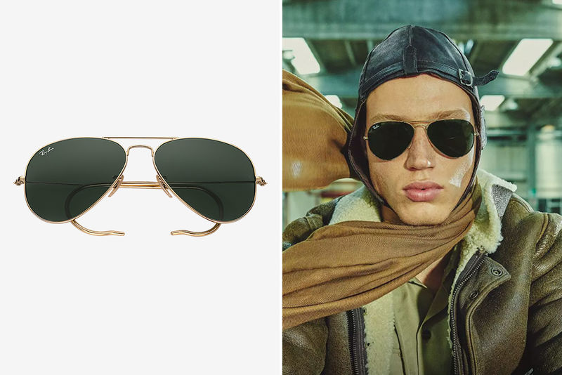 Antiquated Aviator Eyewear