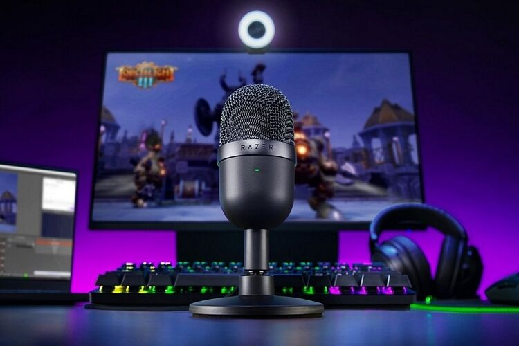 Ultra-Compact Streamer Microphones