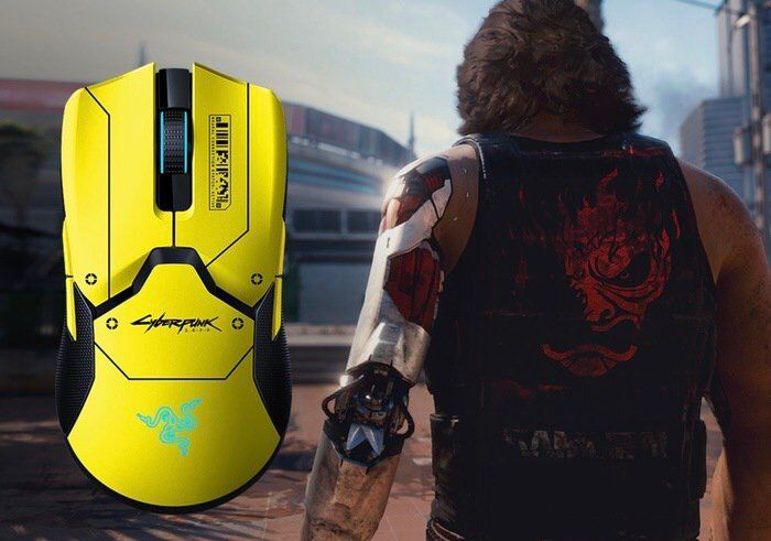 Futuristic Gamer Peripherals