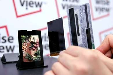 Razor Thin LCD From Samsung