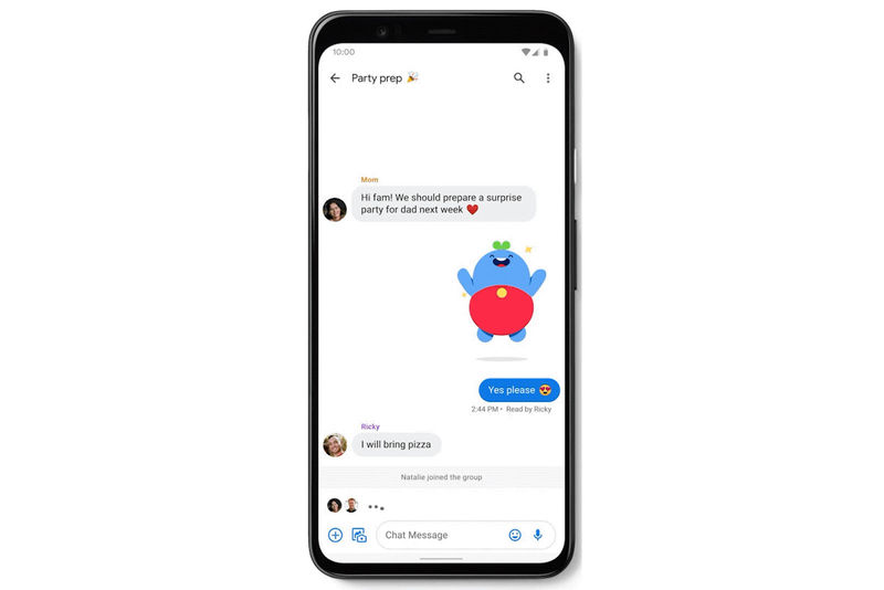 Enhanced Mobile Messaging