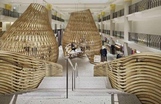 Woven Wooden Pavilions