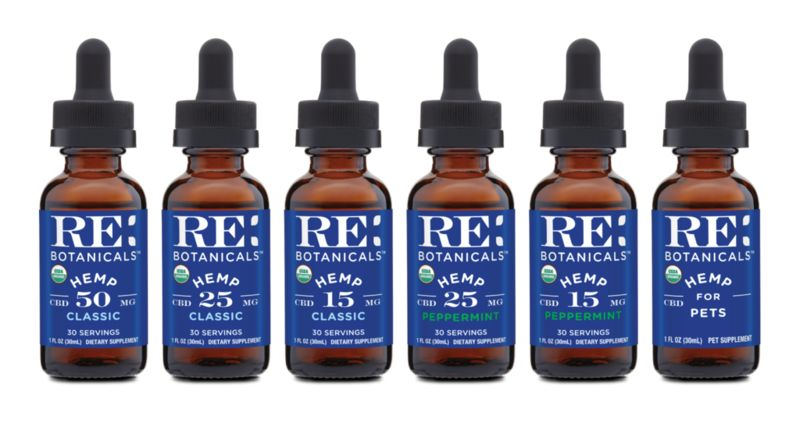 Relaxing Organic CBD Tinctures