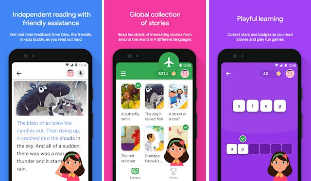 Global Reading-Assistance Apps