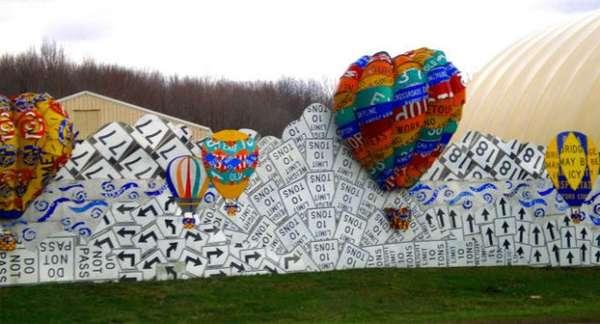 Crowdsourced Highway Art