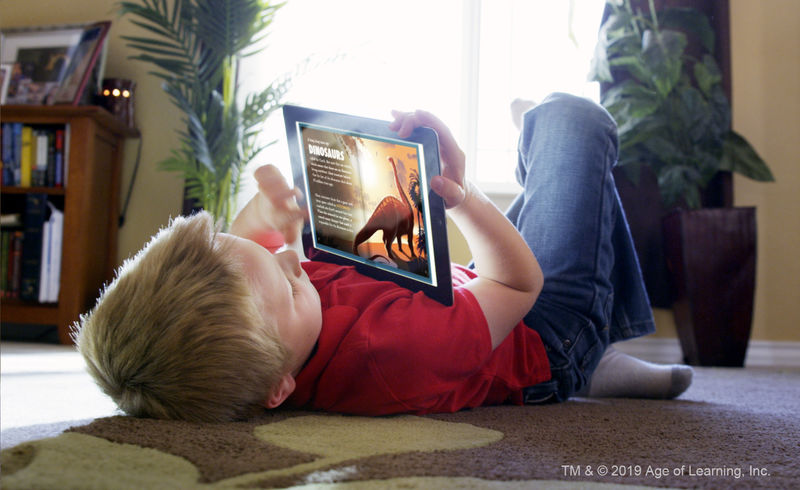 Age-Appropriate Reading Platforms