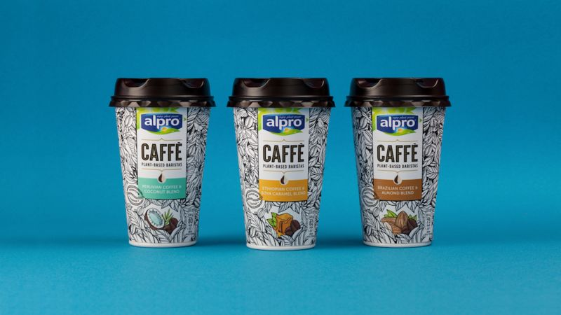 Chilled Plant-Powered Coffees
