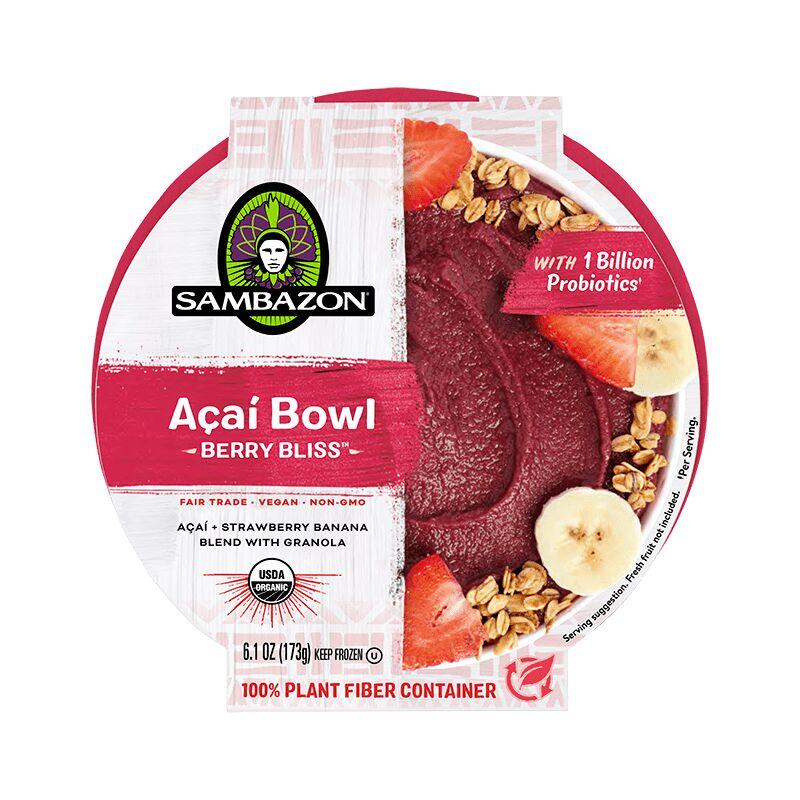 Ready-To-Eat Açaí Bowls