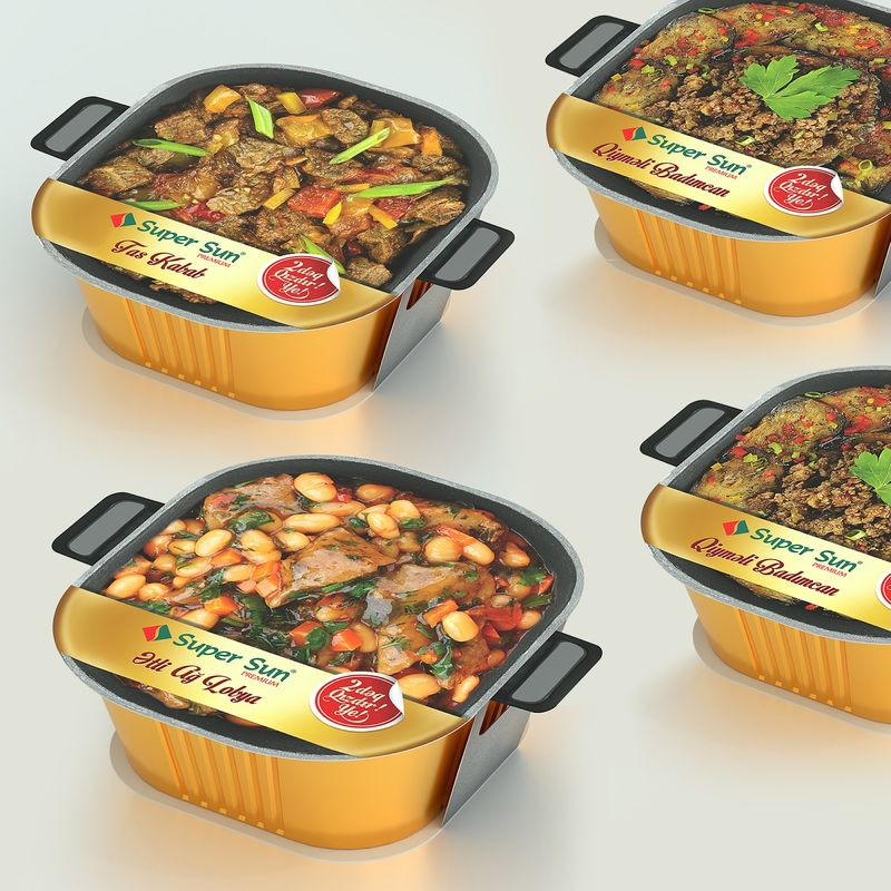 Cookware-Inspired Meal Packages