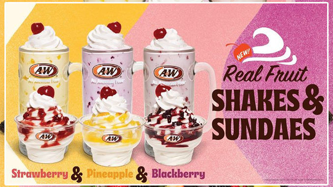 Fruity Soft Serve Sundaes