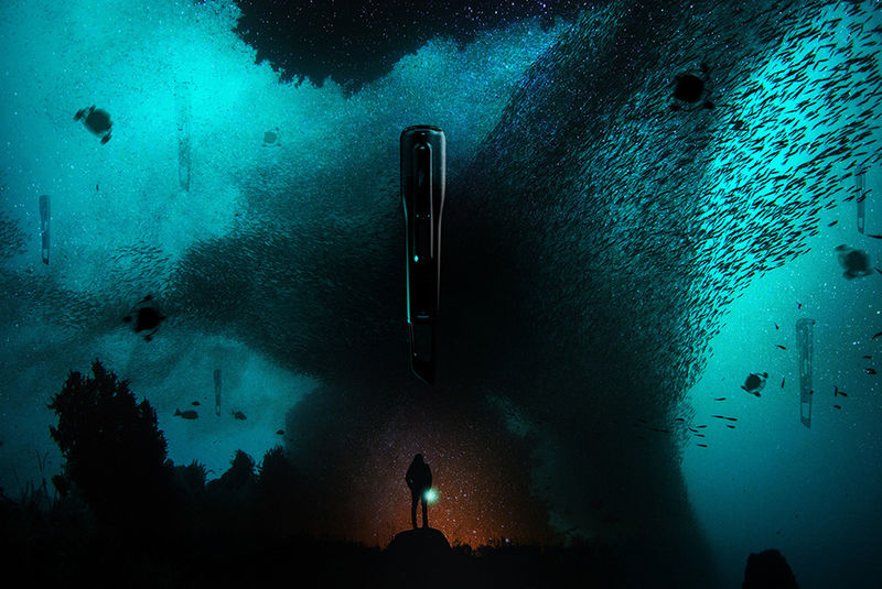 Undersea Oceanic Drones