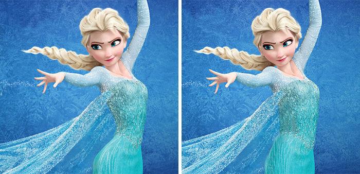 Realistic Disney Princess Waistlines