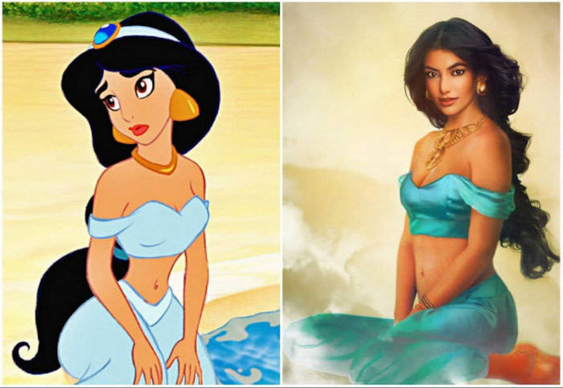 Realistic Disney Princess Depictions
