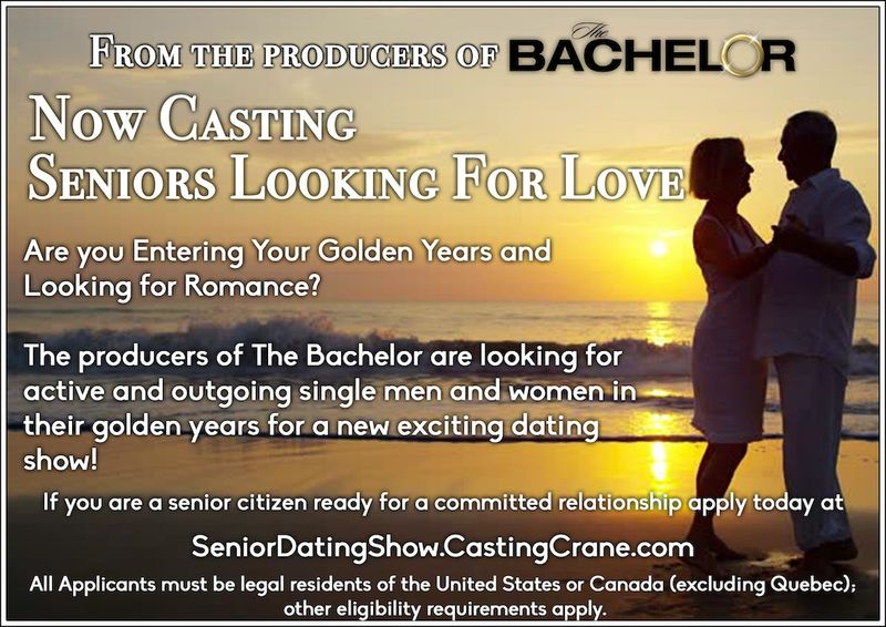 Senior Reality Dating Shows