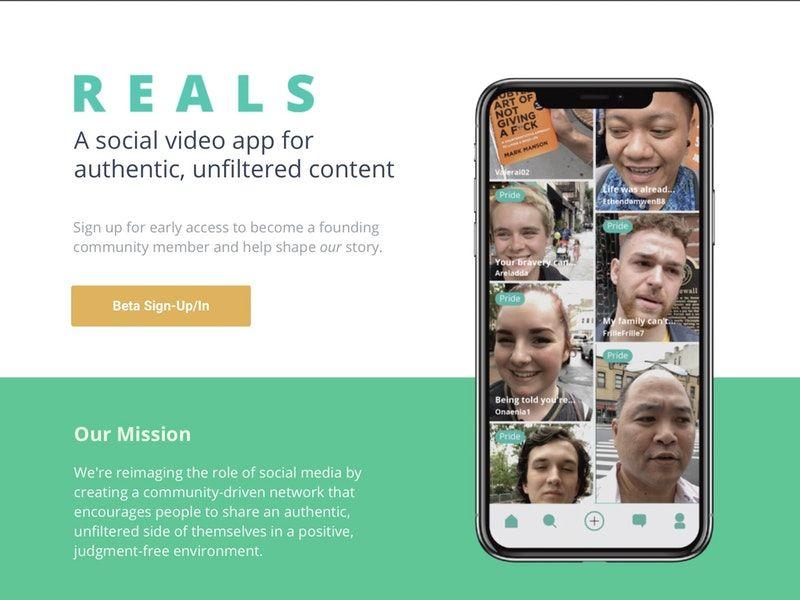 Struggle-Sharing Social Apps
