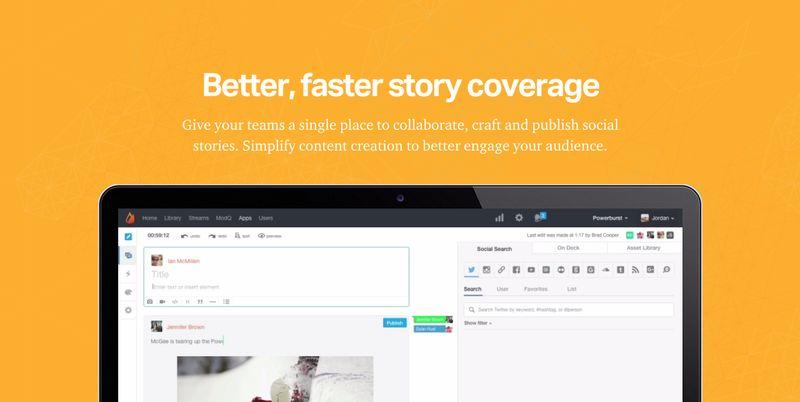 Live Content Publishing Platforms