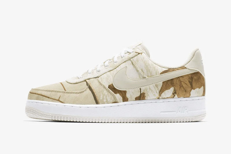 Nature-Inspired Camo Sneakers
