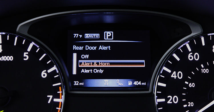 Rear Seat Alert Systems