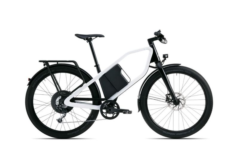Pentagonally Framed E-Bikes