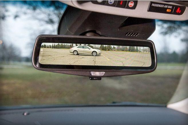 Rearview Mirror Video Displays