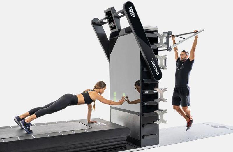 Self-Sanitizing Workout Equipment