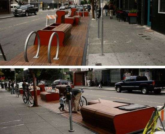 Clever Sidewalk Extensions