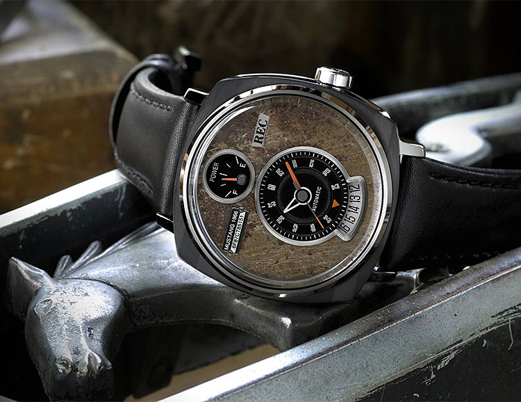 Salvaged Sports Car Timepieces