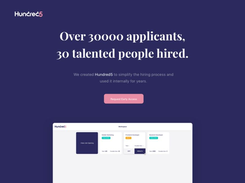 Resume-Eliminating Recruitment Tools