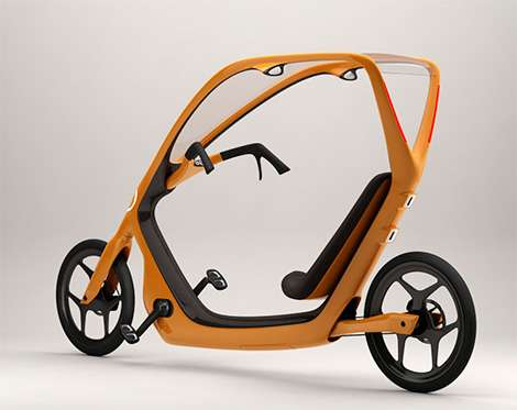 Recliner Bikes This Way Recumbent Bicycle Is Strictly For Fair