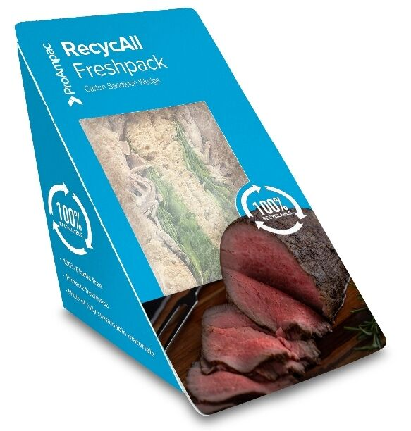 Plastic-Free Sandwich Packages