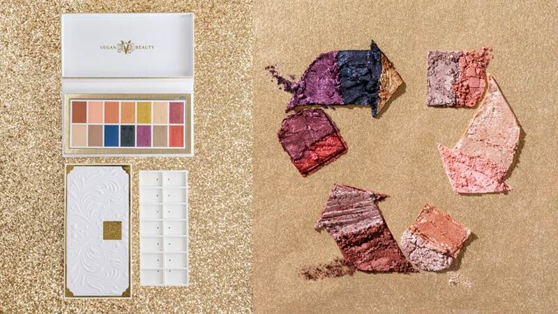 Fully Recyclable Eyeshadow Palettes
