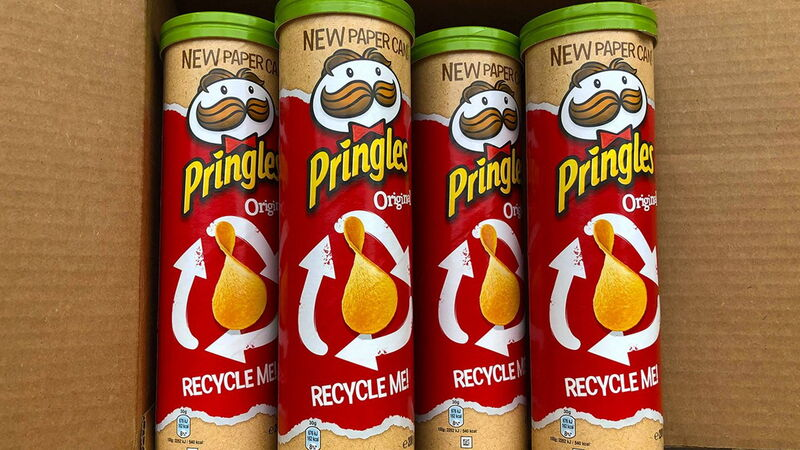 Recyclable Paper Chip Tubes