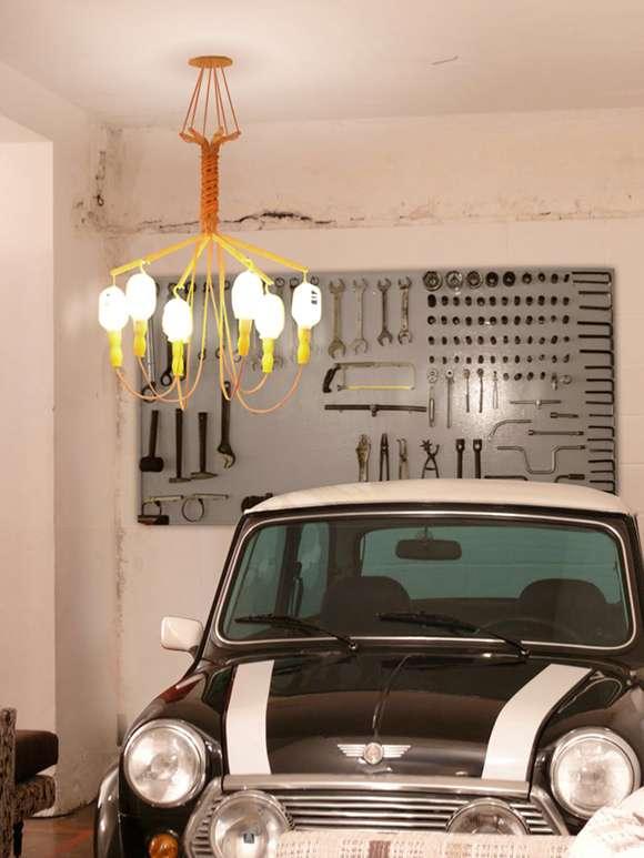 Auto Shop Chandeliers