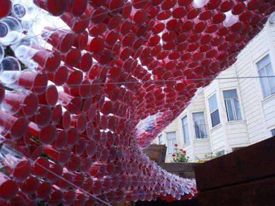 Plastic Cup Canopies