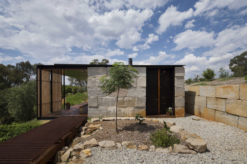 Recycled concrete homes environmentally conscious home for Industrial style house for sale