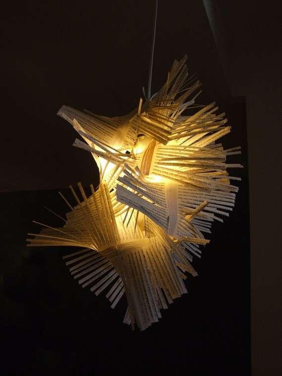 Peculiar Paper Lampshades