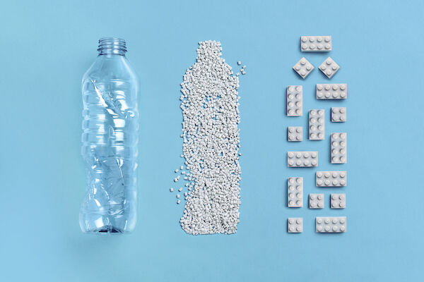 Recycled Plastic Toy Bricks