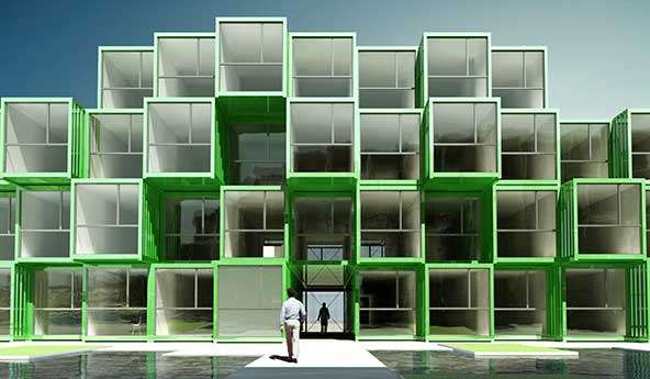 Recycling Box Dwellings