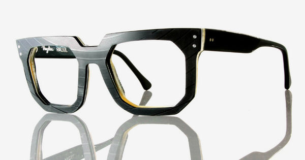 Bold Recycled Vinyl Glasses