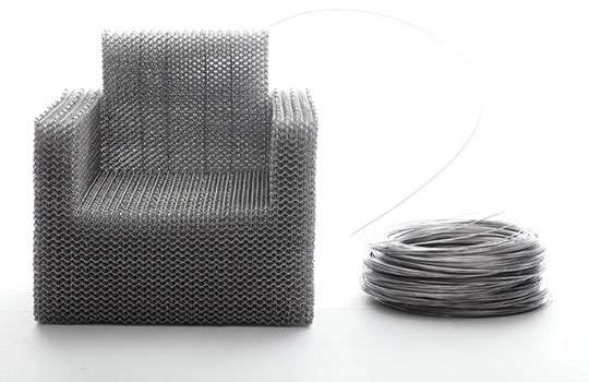 Bent Wire Seating