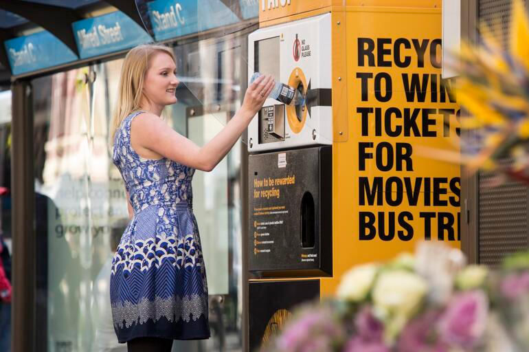 Incentivized Recycling Machines