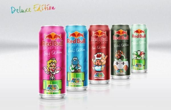 Video Game Energy Drinks
