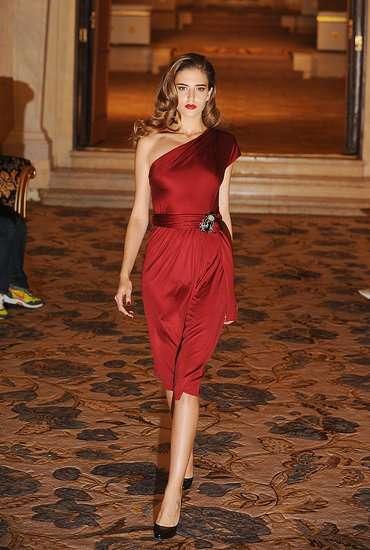 Sultry Crimson Dresses