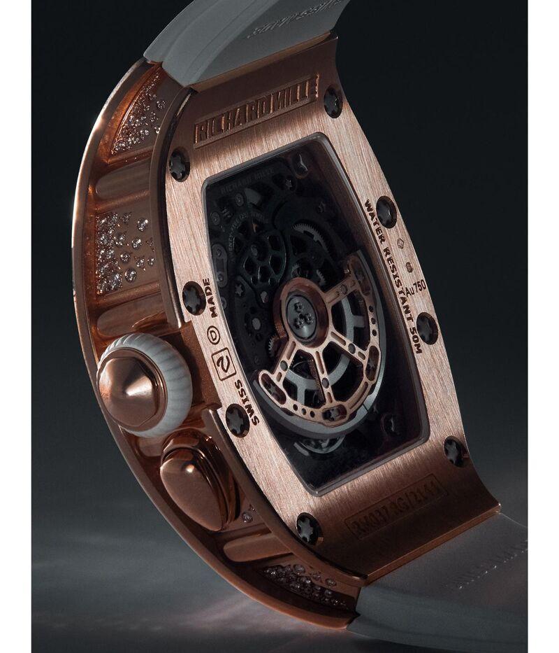 Futuristic Women's Skeletonized Timepieces