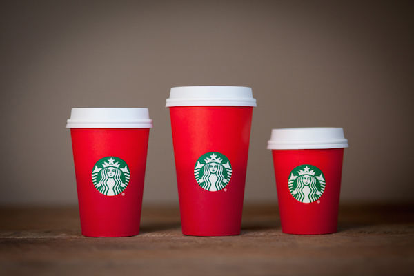 Minimalist Holiday Coffee Cups