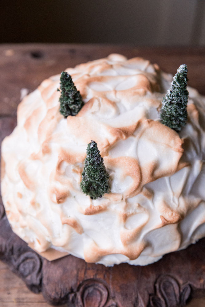 Tree-Topped Desserts