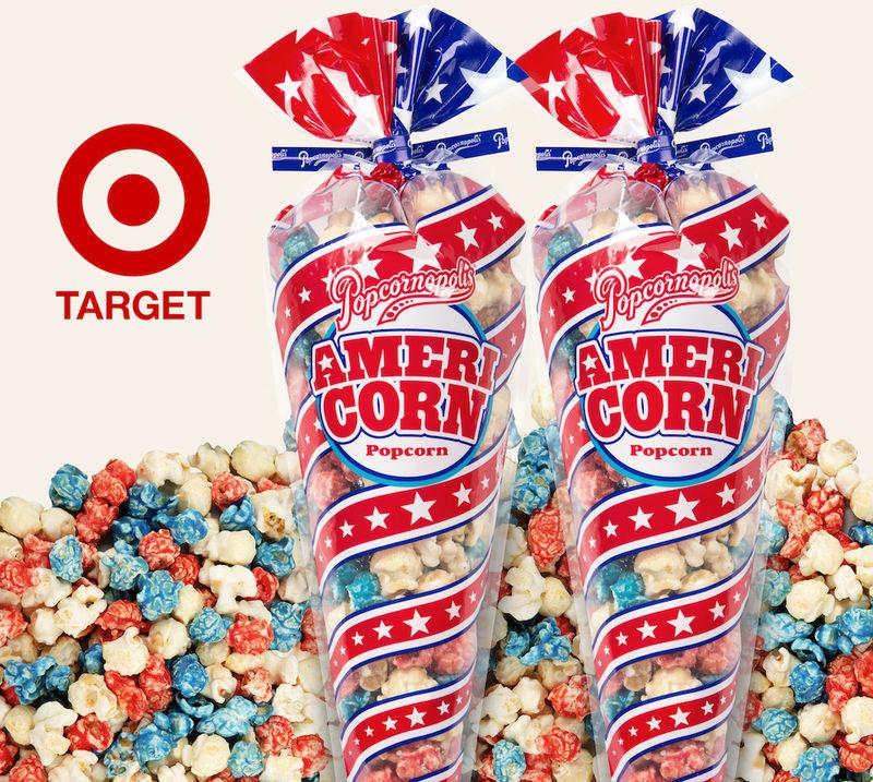 Patriotic Popcorn Snacks
