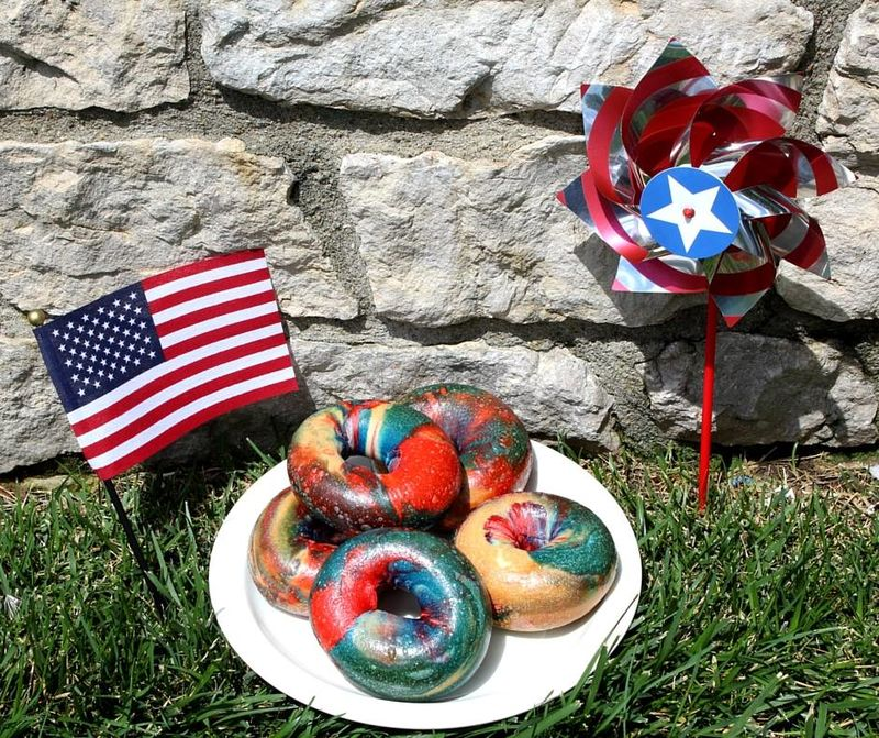 Americana-Inspired Bagels